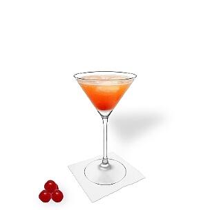 Martini Gläser sind eine weitere gute Möglichkeit für Aperol Sour.
