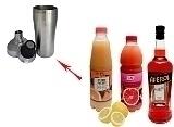 Aperol Sour Zubereitung: Shaken