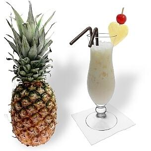 Batida de Coco ist ein leckerer Kokosnuss-Cocktail aus Brasilien.