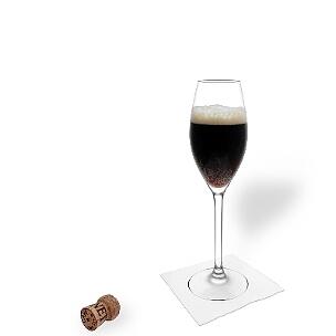 Prickelnder Champagner mit dezenten Guinness Geschmacksnoten, erstaunlicherweise passt das hervorragend zusammen.