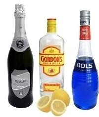 Blue Champagne Zutaten