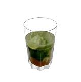 Caipirissima Zubereitung: Weißen Rum und Rohrzucker dazugeben