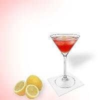Cosmopolitan im Martini-Glas.