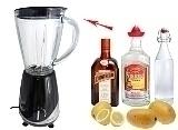 Frozen Mango Margarita Zubereitung: Mixen