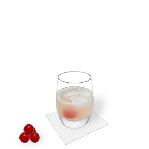 Tumbler Gläser eignen sich am besten für Gin Sour.