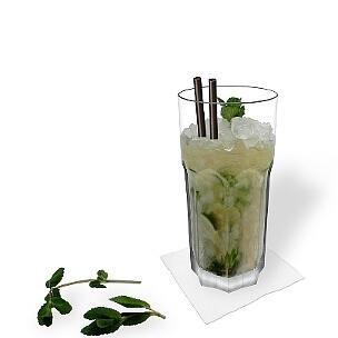 Pfefferminze, Limette, Rohrzucker und Rum, Mojito ist einer der beliebtesten Cocktails der bei fast allen gut ankommt.