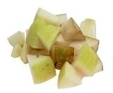 Sangria Blanca Zubereitung: Früchte Zubereiten