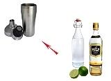 Whisky Sour Zubereitung: Shaken